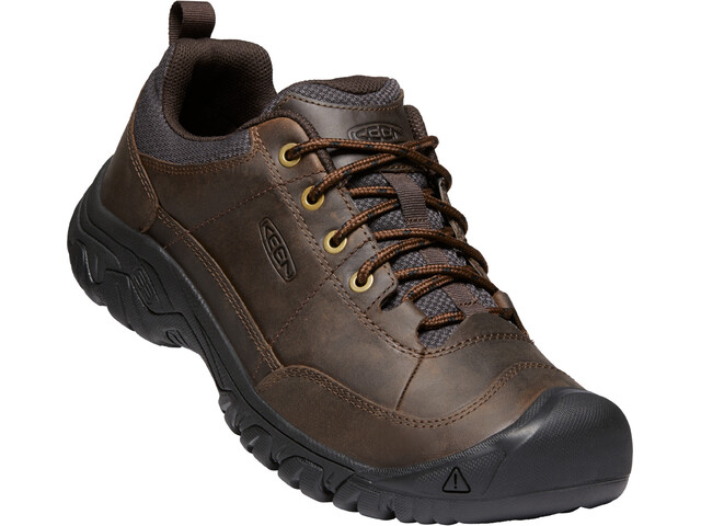 Keen Targhee III Oxford Shoes Men dark earth/mulch